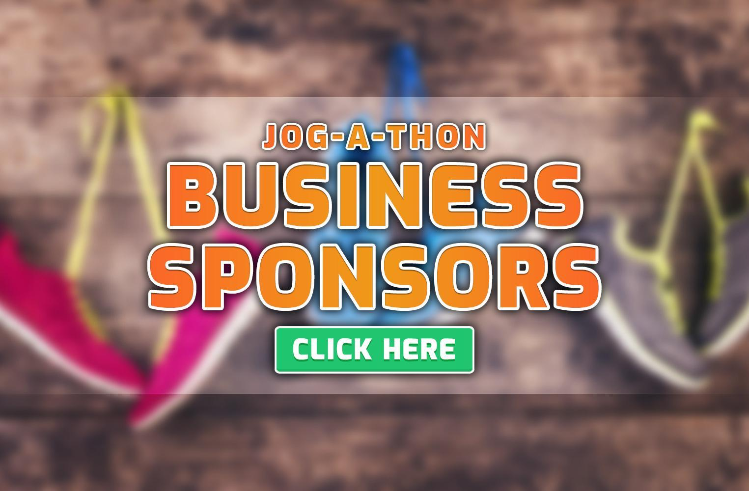 Jog-A-Thon Business Sponsorship Opportunities