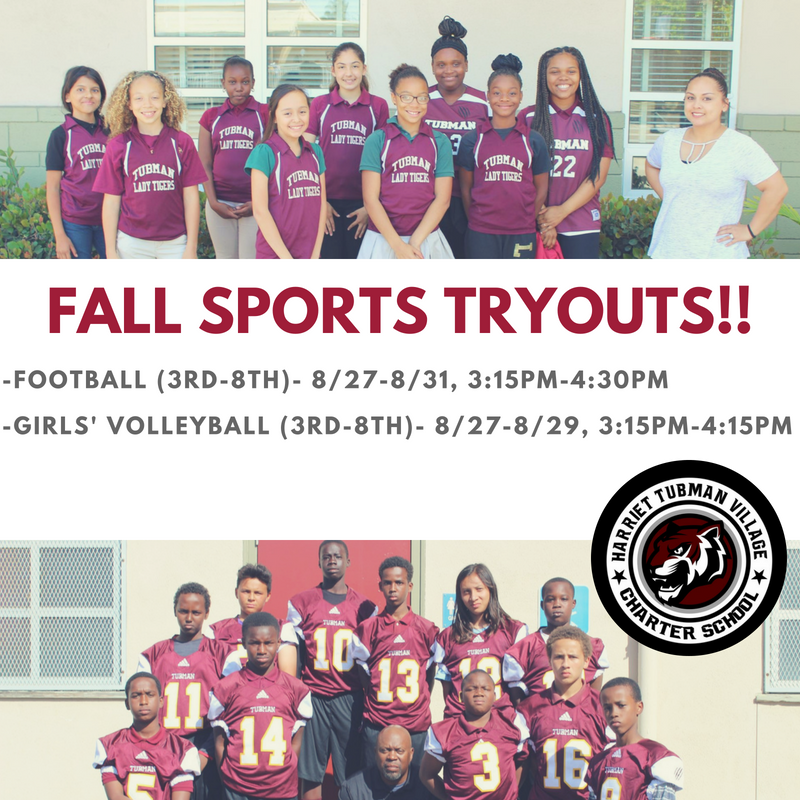 Fall Sports Tryouts! Featured Photo