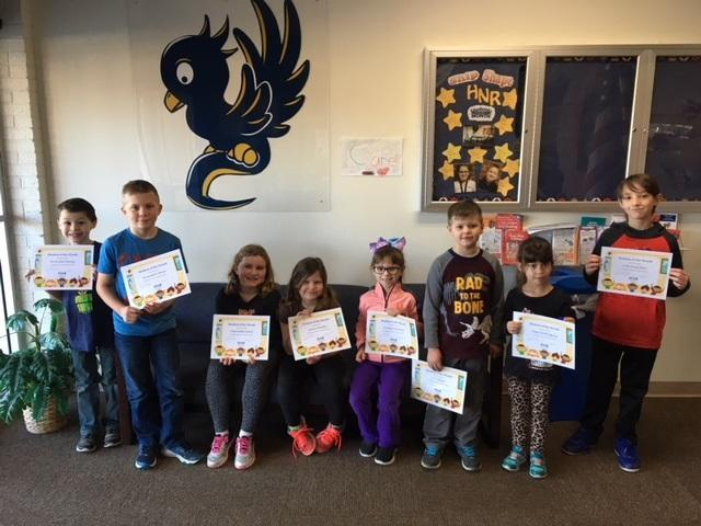 CONGRATS to our OCTOBER Students of the Month! Featured Photo