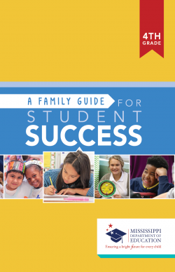 A Family Guide For Student Success - 4th Grade