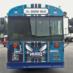 Hornets Book Bus Featured Photo
