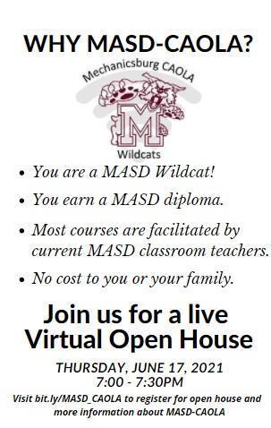 Why enroll in MASD-CAOLA
