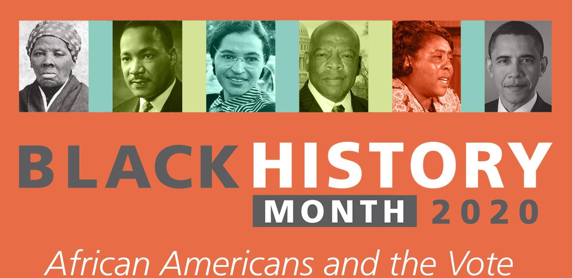 Black History month 2020 African Americans and the vote