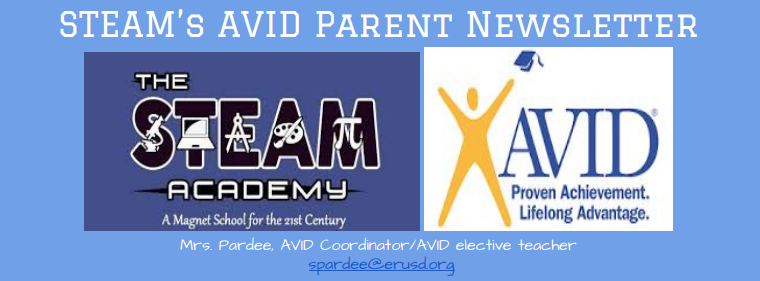 AVID Parent Newsletter