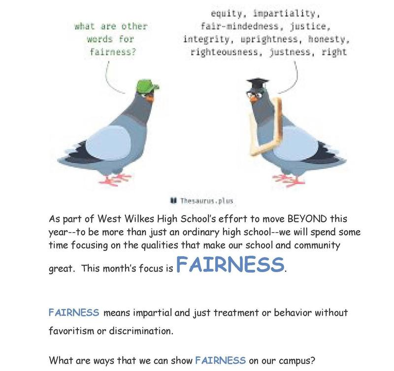 Character Trait for November is Fairness Thumbnail Image