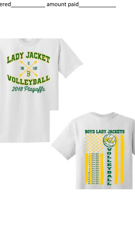 Vollyball Playoff Shirts Thumbnail Image