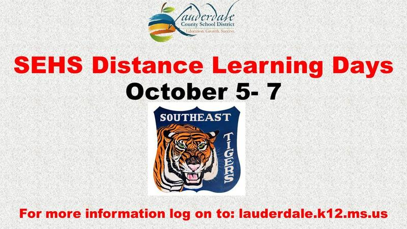 SEHS Distance Learning Days Graphic
