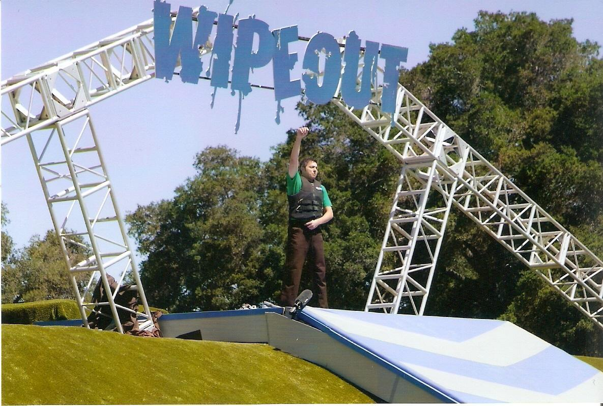2011: Contestant on the ABC game show 'WipeOut'. The episode is titled 'Hotties vs. Nerds' if you care to search for it.
