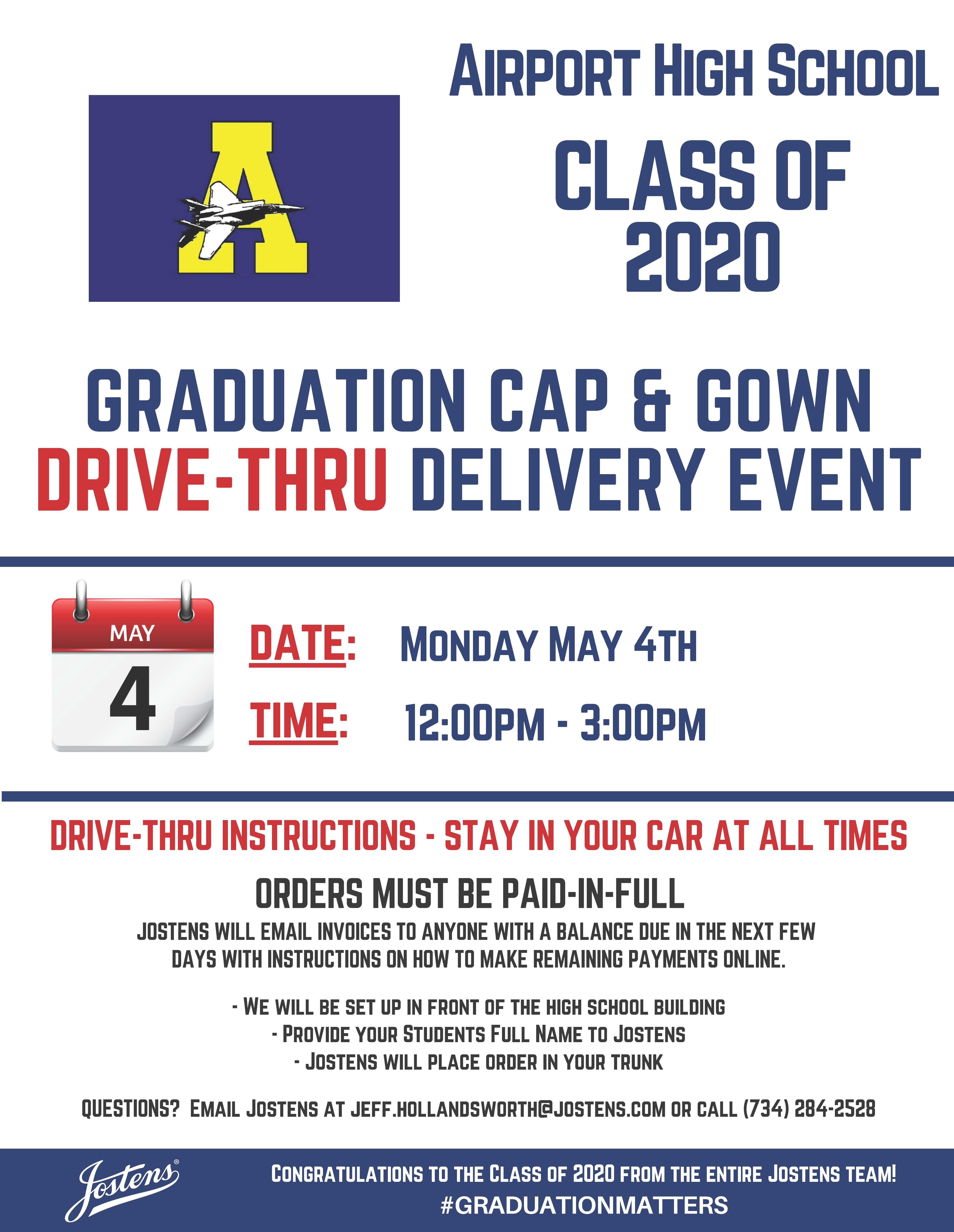 Airport Cap and Gown Flyer