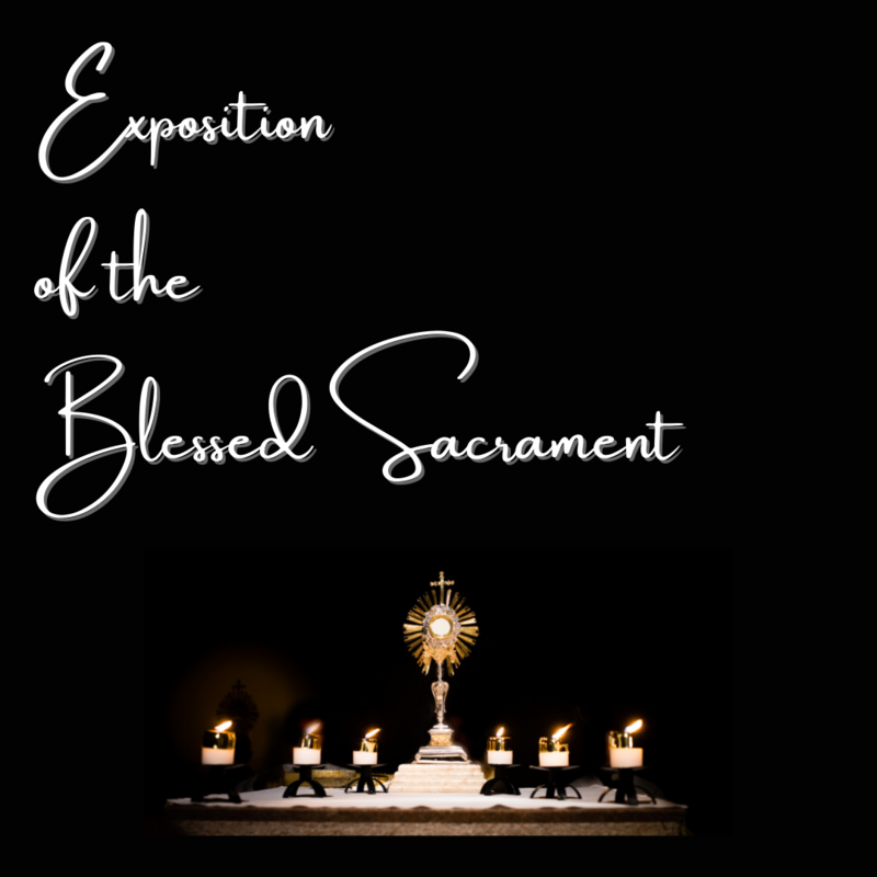 Exposition of the Blessed Sacrament Featured Photo