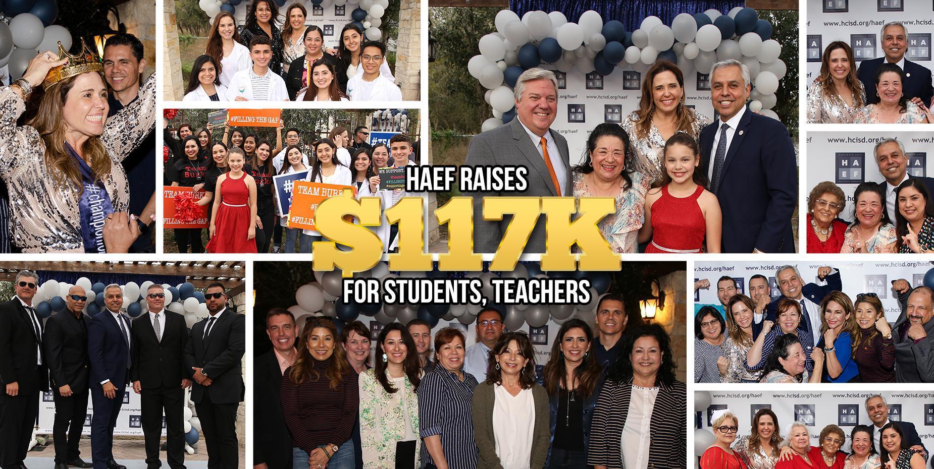 HAEF raises $117K for students, teachers