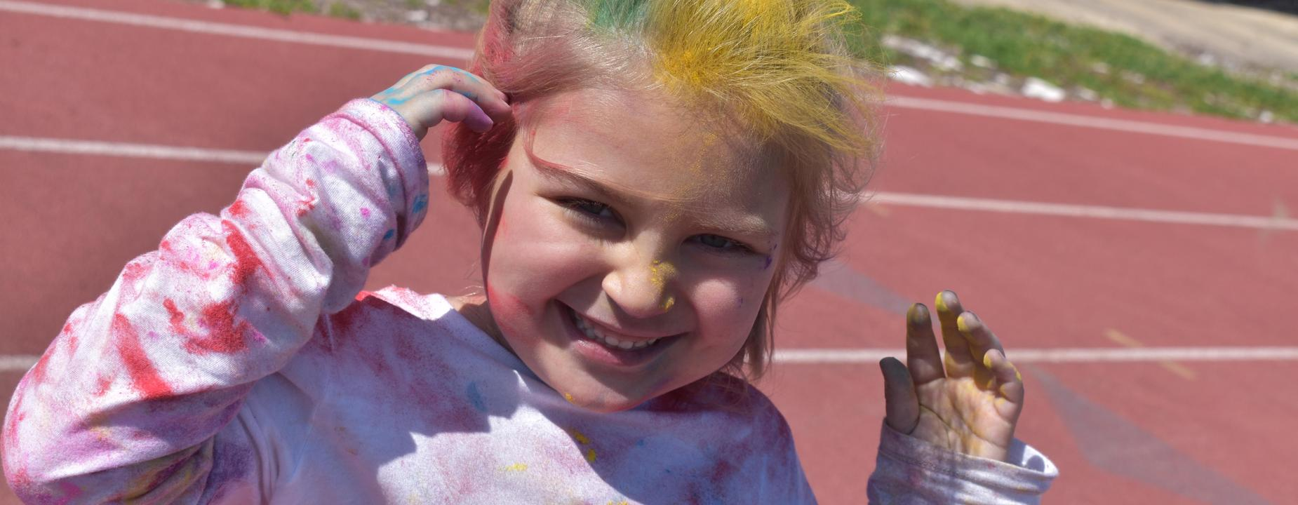 color run smiles