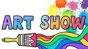 paintbrush with words Art Show