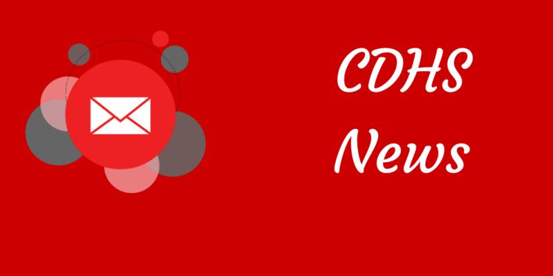 CDHS Weekly Update - April 1, 2019