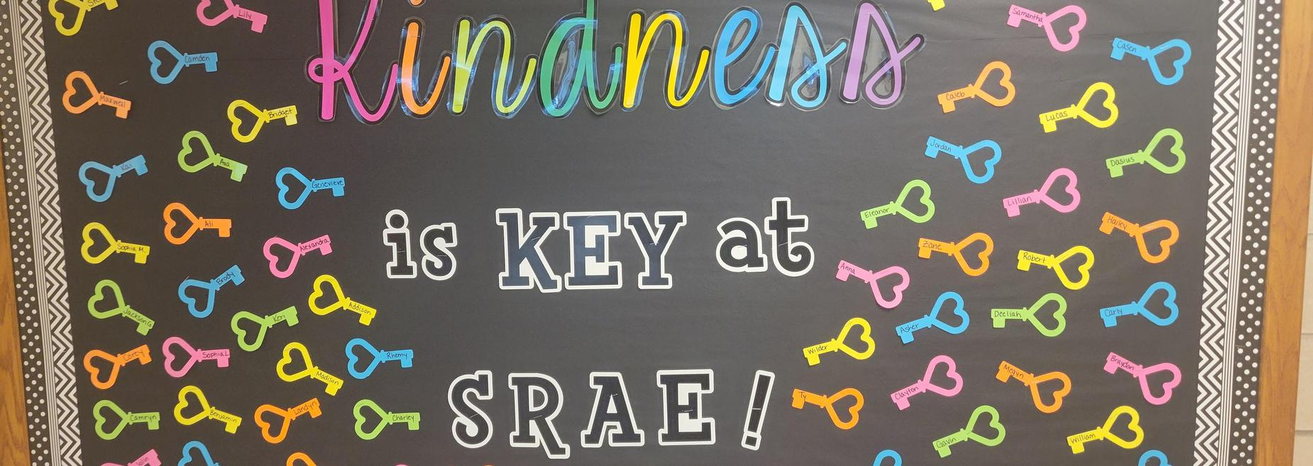 Kindness is Key at SRAE