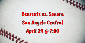 Bearcats vs. Sonora