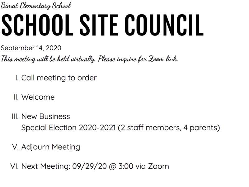 School Site Council Thumbnail Image