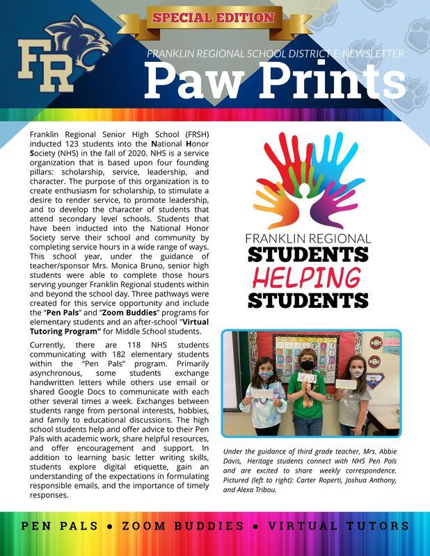 Paw Prints SE April 2021