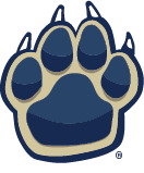 Franklin Regional School District sports logo - Paw Print (registered trademark)