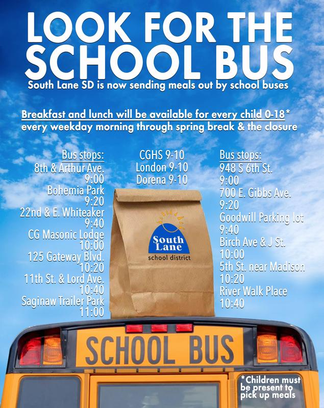Look For The Bus: Meals for Children 0-18 Featured Photo