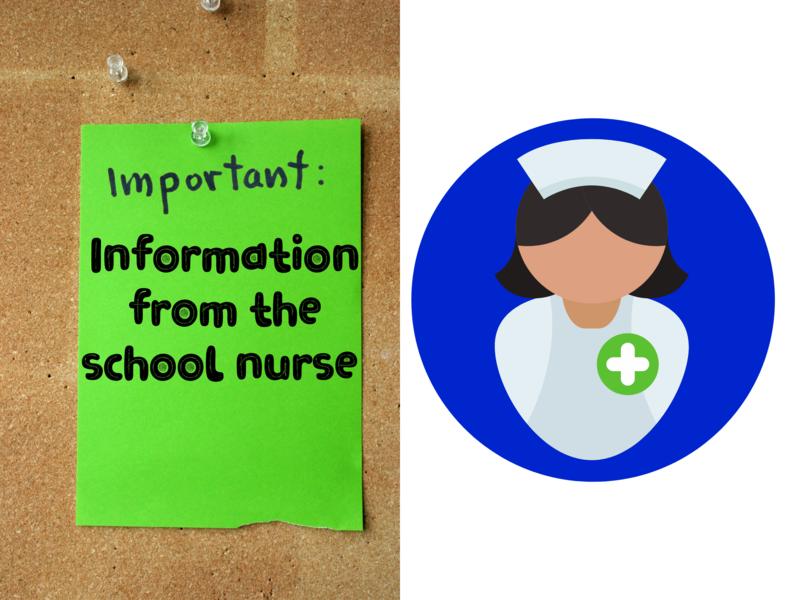 information from the school nurse