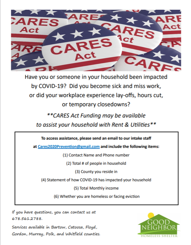 Information about the CARES Act Featured Photo