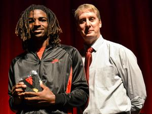 Leeonte' and Mr. Bob Buchheim, Principal