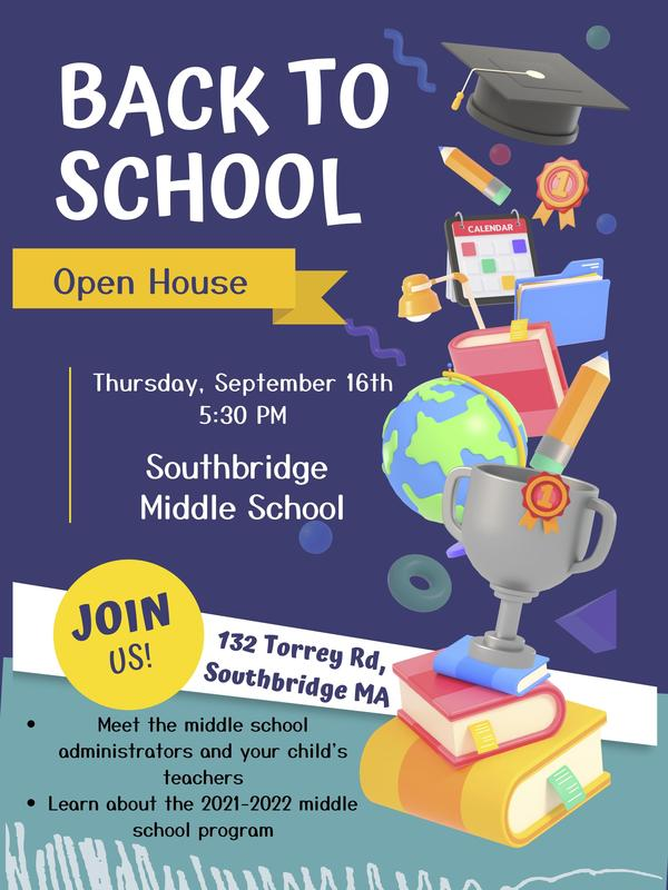 Flyer in English about Open House event. All wording is also in the body of the post.
