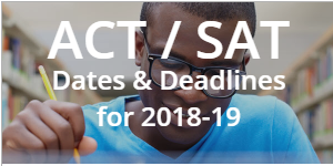 CFNC SAT/ACT Test Dates