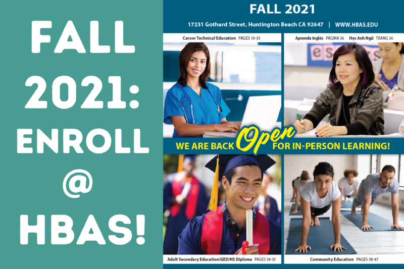Enroll for Fall 2021 Featured Photo