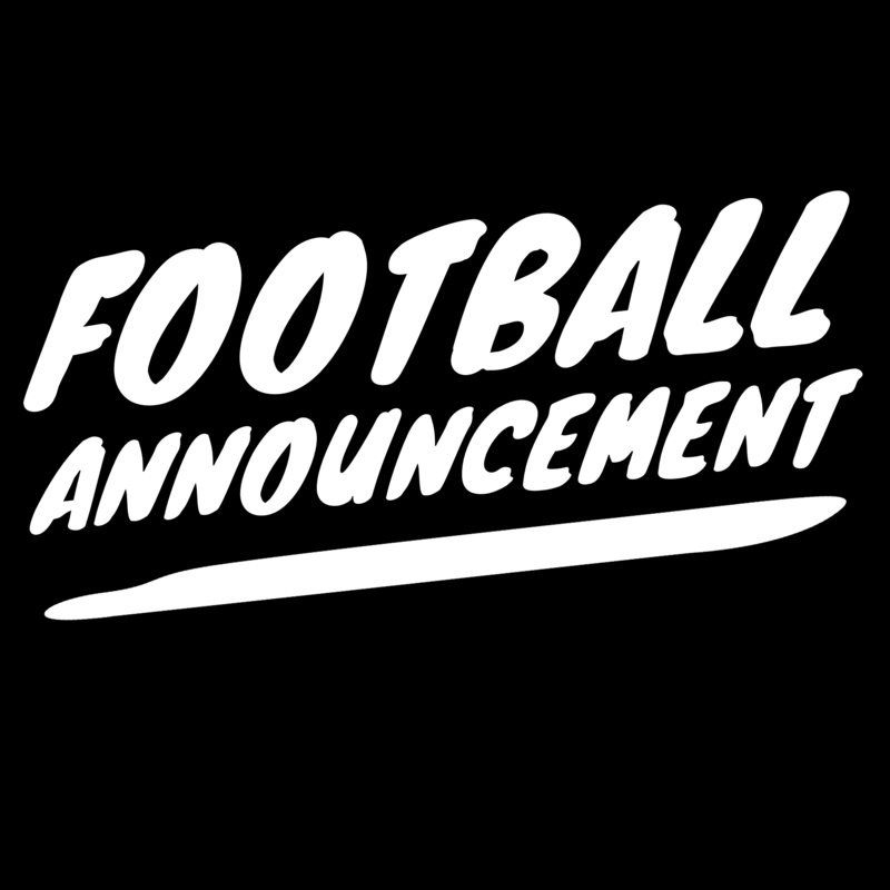 Football Announcement Featured Photo