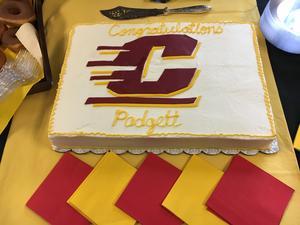 Padgett Chitty Signs with CMU