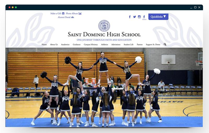 St. Dominic HS Homepage
