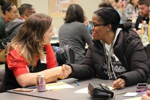 participants at meeting