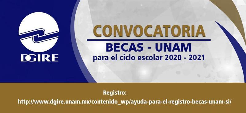 Becas UNAM 2020-2021 Featured Photo
