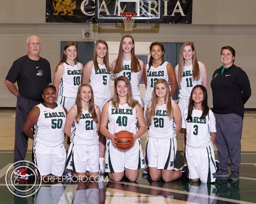 Freshmen Girls Basketball 2018-19