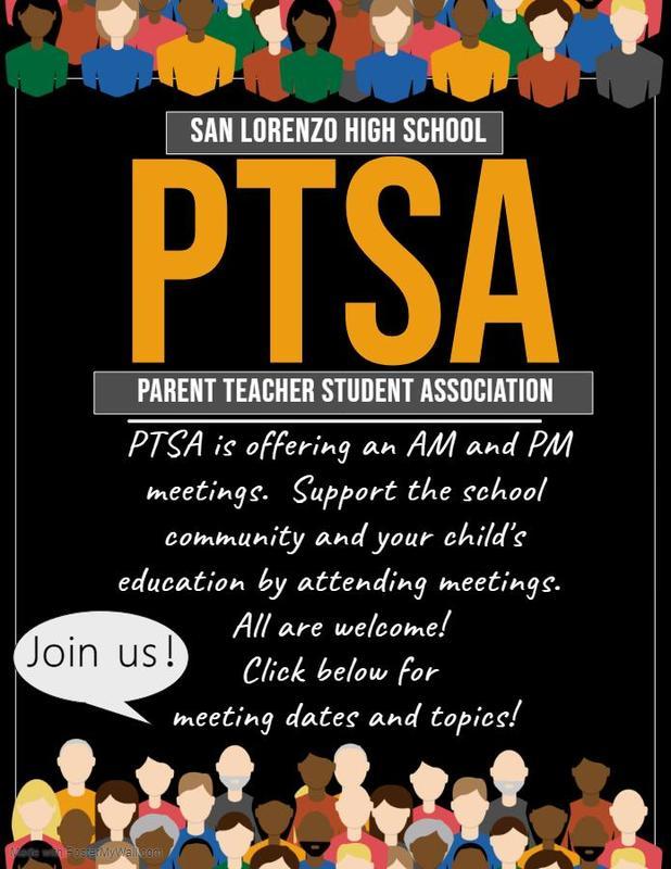 PTSA Meeting Dates & Topics Featured Photo