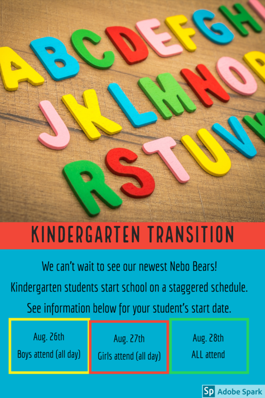 abc's kindergarten transition aug 26 boys only aug 27 girls only aug 28 everyone full day