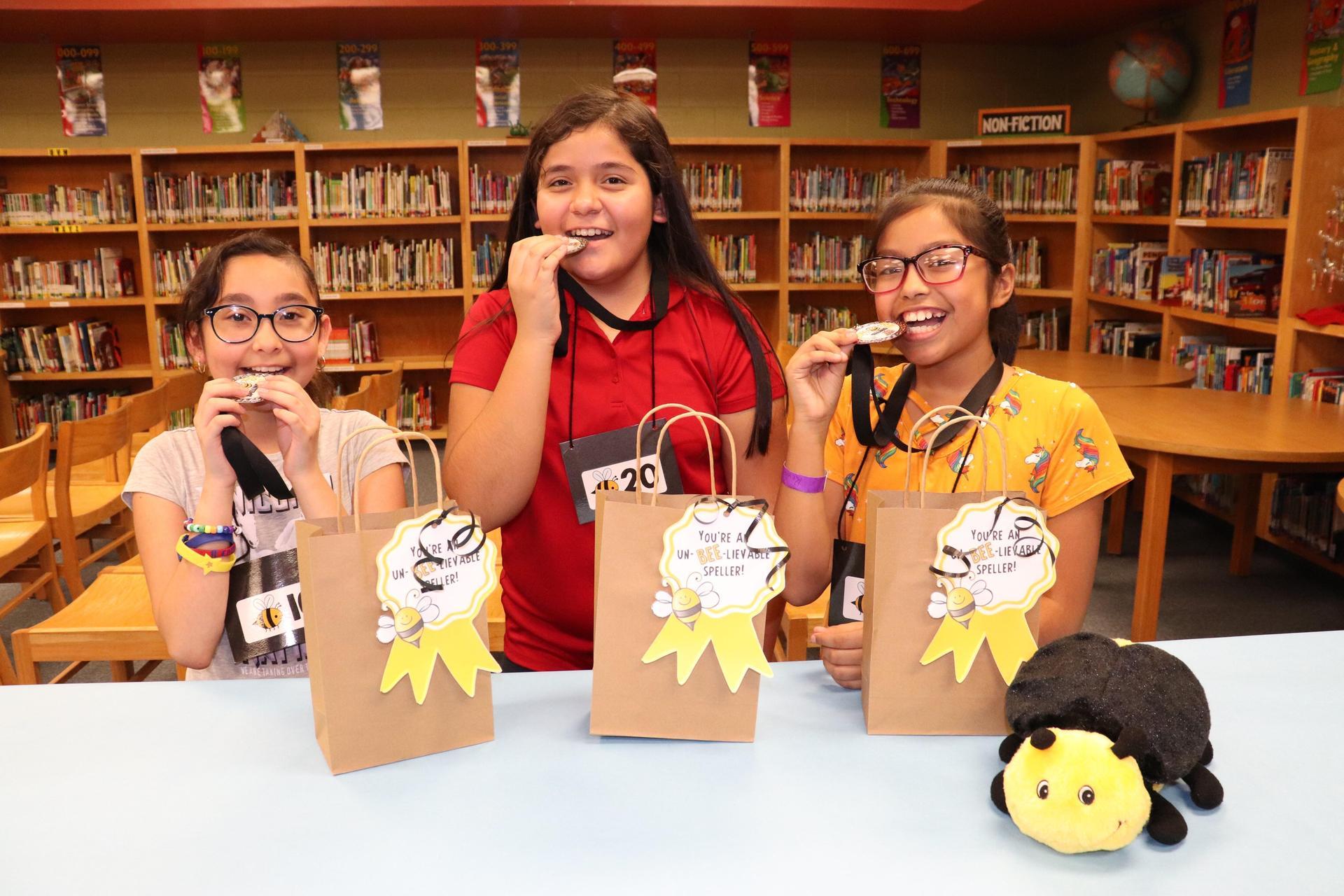 Image of Spelling Bee winners