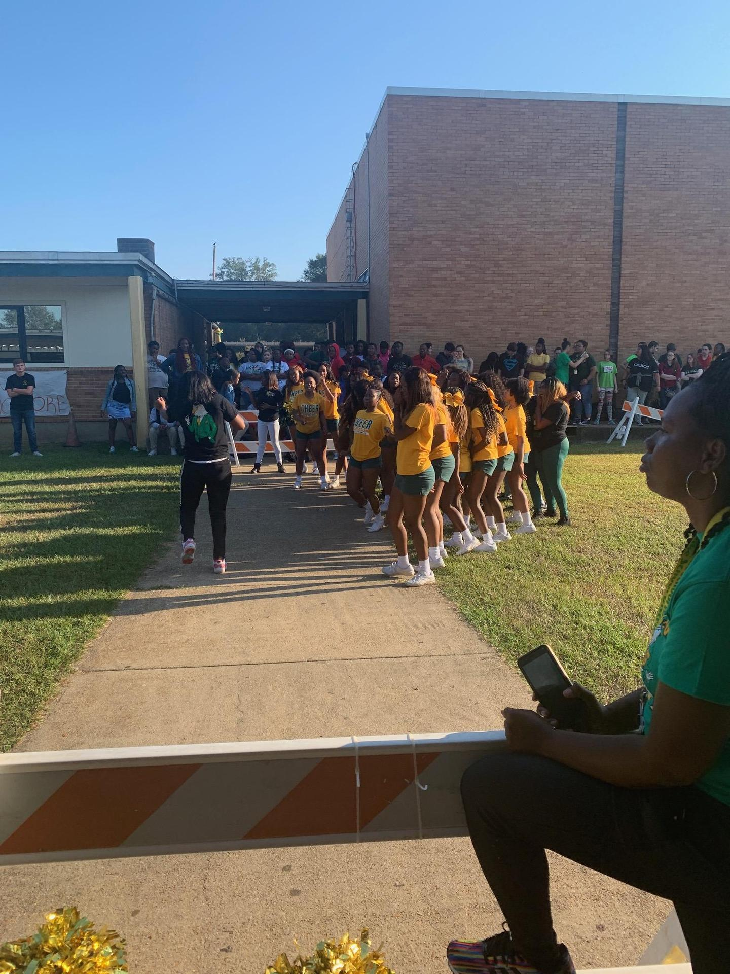SPHS Cheer 2019 HC Pep Rally