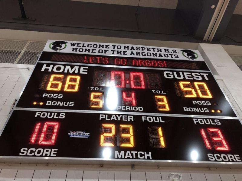 Maspeth High JV Basketball Wins New Year Home Opener Featured Photo