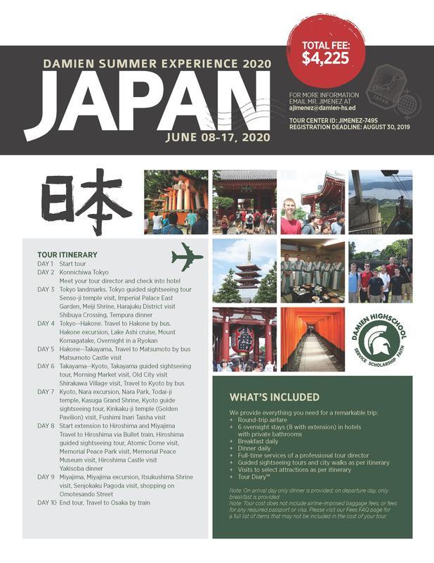 Spartan International Travel Program: Japan Featured Photo