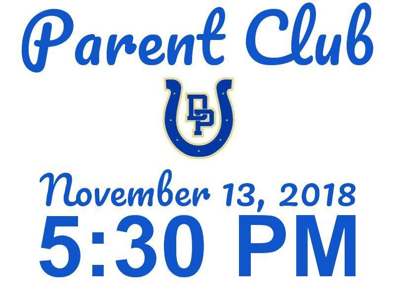 Parent Club Meeting Featured Photo