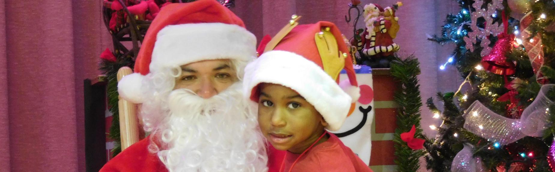 Santa visits North ELC