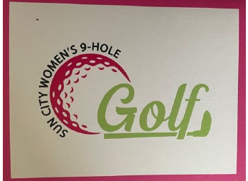 Thank You to the Sun City Women's 9-Hole Gold Organization! Featured Photo