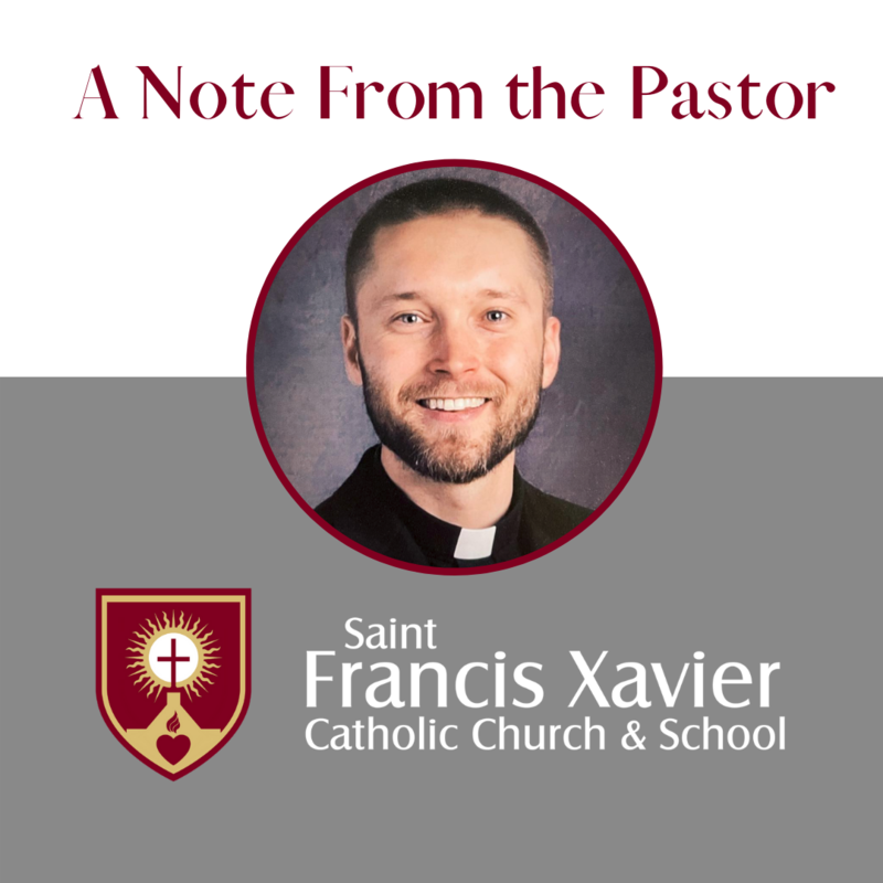 A Note from the Pastor Thumbnail Image