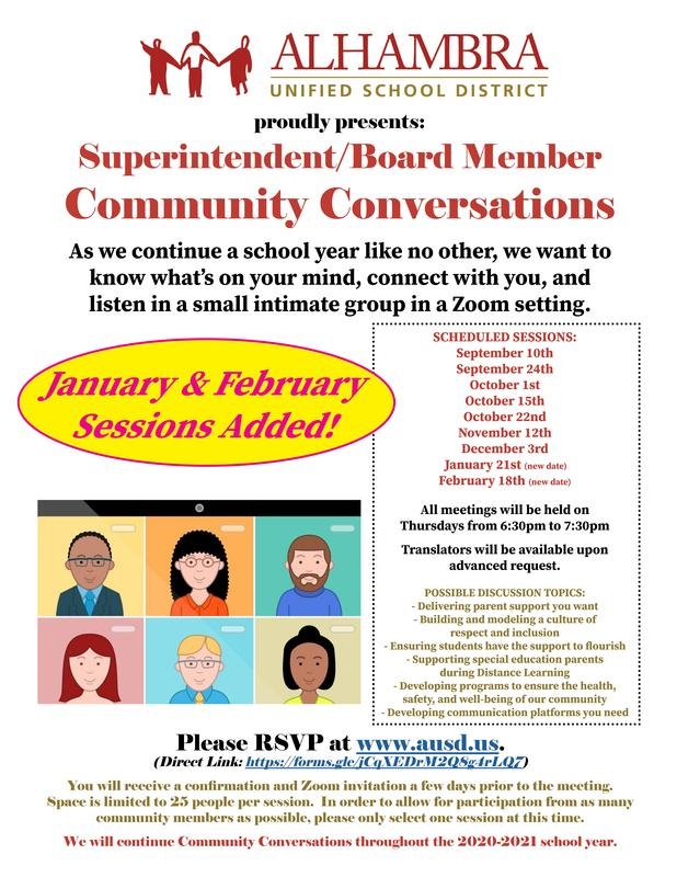 Community Conversations - JANUARY & FEBRUARY dates added! Featured Photo