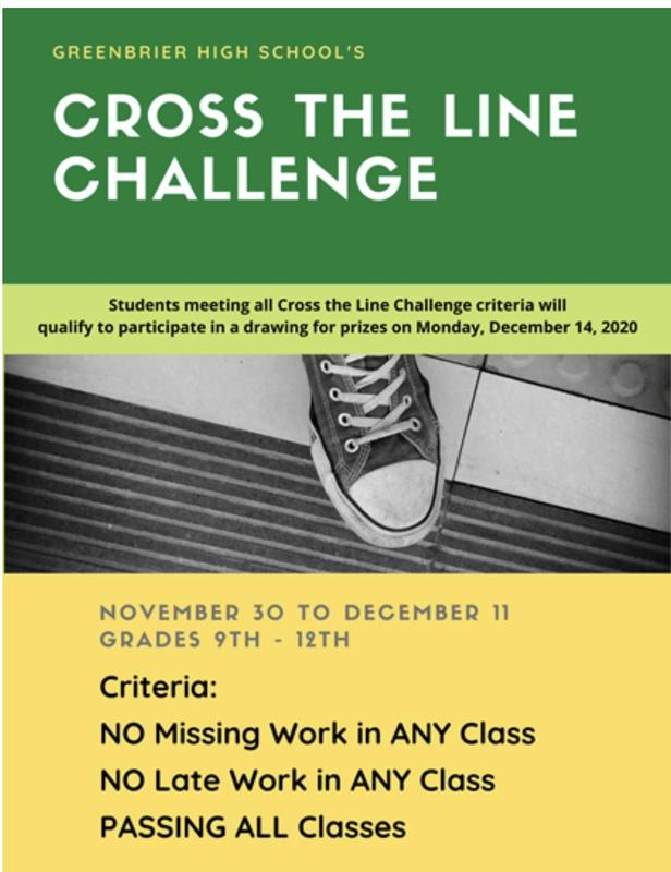 Cross the line challenge