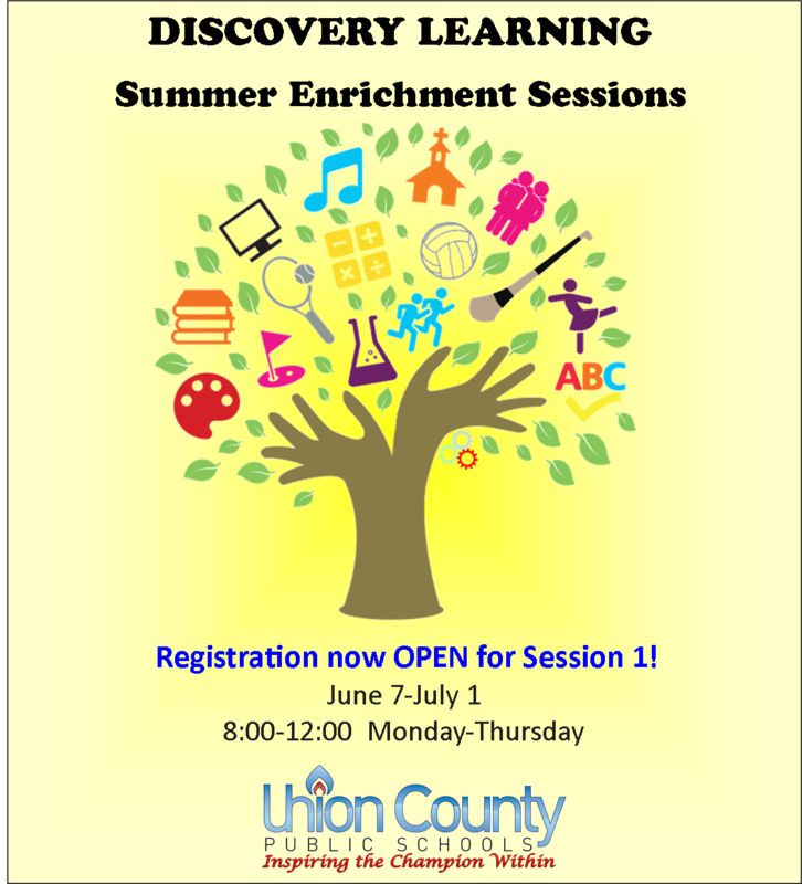 Discovery Learning- Summer Enrichment-- REGISTER NOW! Thumbnail Image