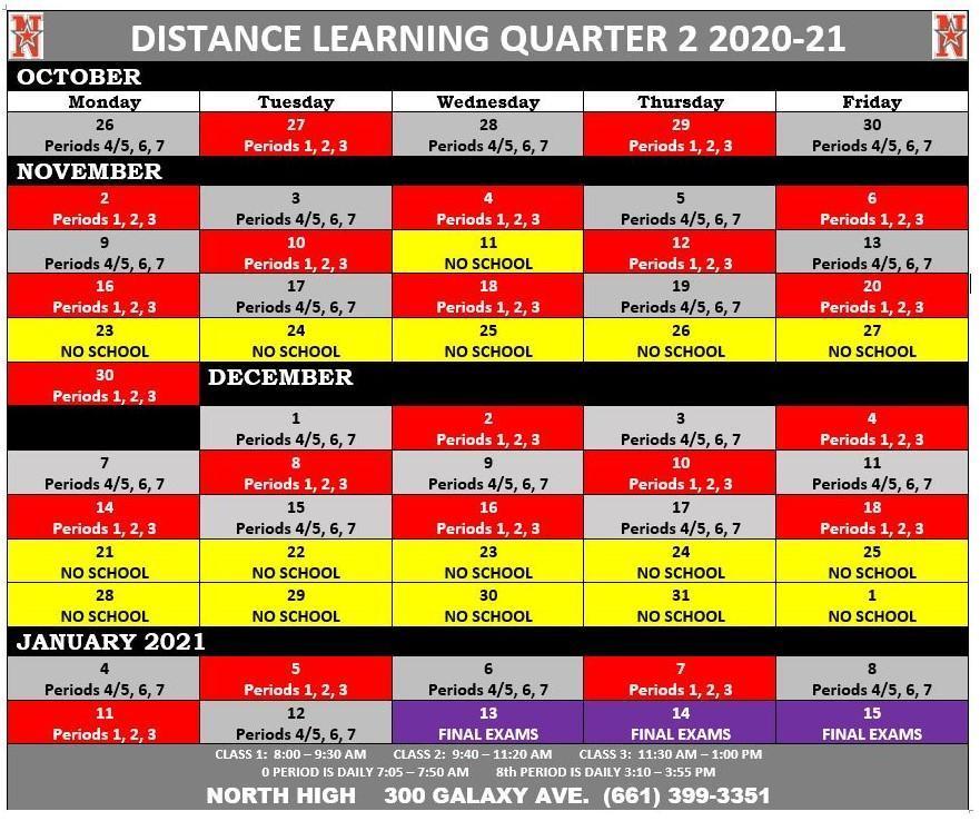 Q2 20-21 DL Calendar
